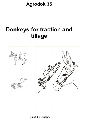 Donkeys for traction and tillage