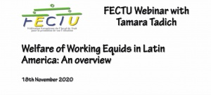 FECTU Webinar with Tamara Tadich: Overview of the welfare of working equids in Latin America