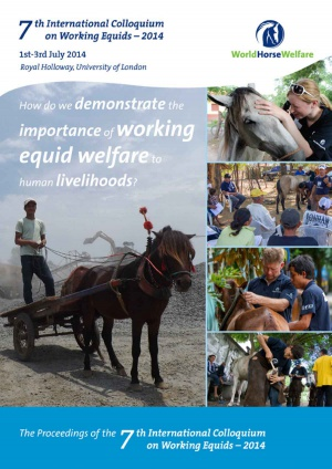 Proceedings of the 7th International Colloquium on Working Equids