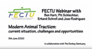 FECTU Webinar: Modern Animal Traction