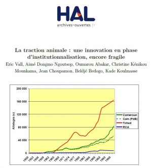 La traction animale:une innovation en phase d'institutionalisation, encore fragile