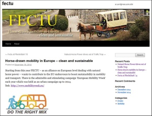 Horse-drawn mobility in Europe – clean and sustainable